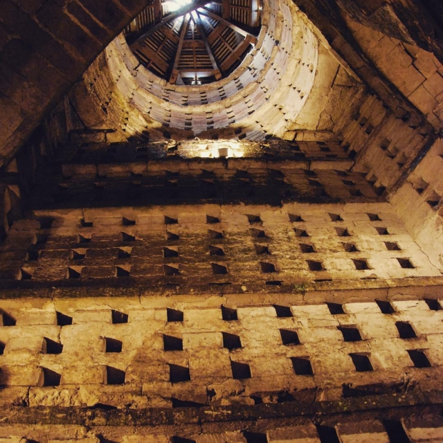 A surprising winery visit in Loire Valley Pigeonnier  Bonne