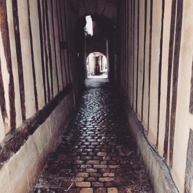 Wander in Tours city  Bonne journe
