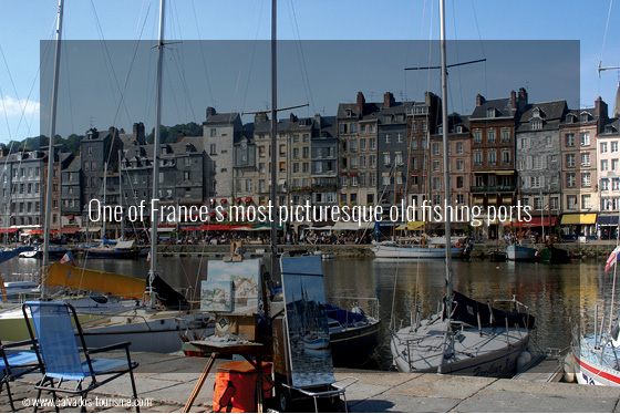 Normandy Travel Guide, Honfleur port