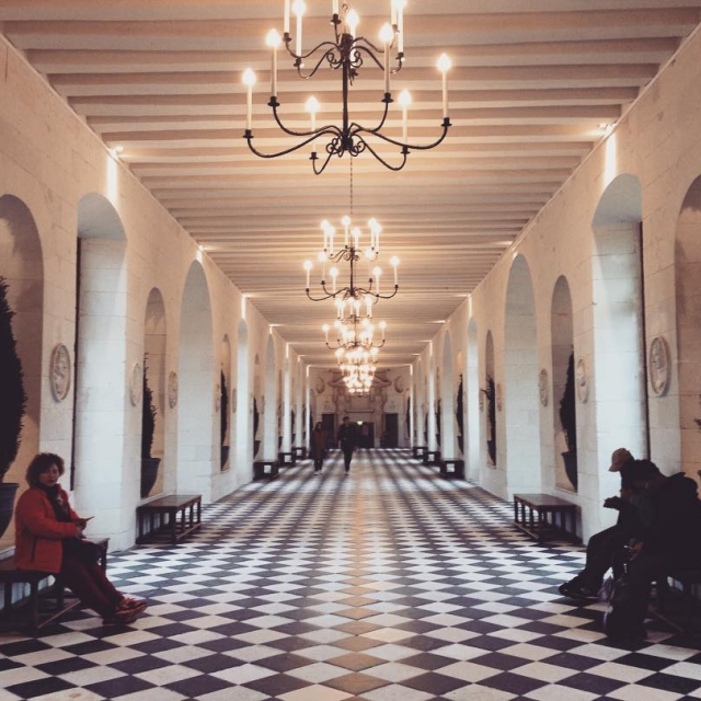 A walk in beautiful Chenonceau castle  Bonne journe