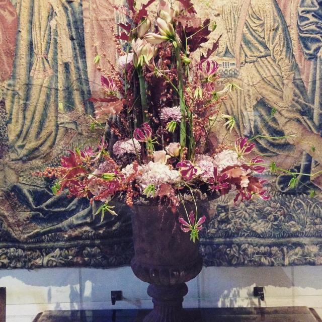 Tuesday flowers from Chenonceau castle  Bonne journe