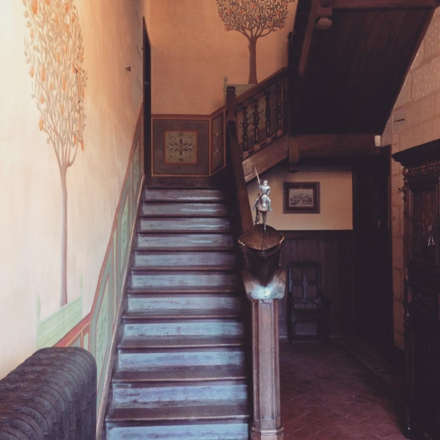 Castle stairs leading us to the weekend! Happy F Rhellip