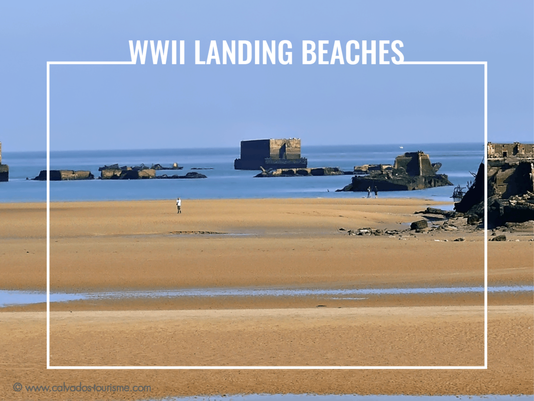 WWII landing beaches normandy