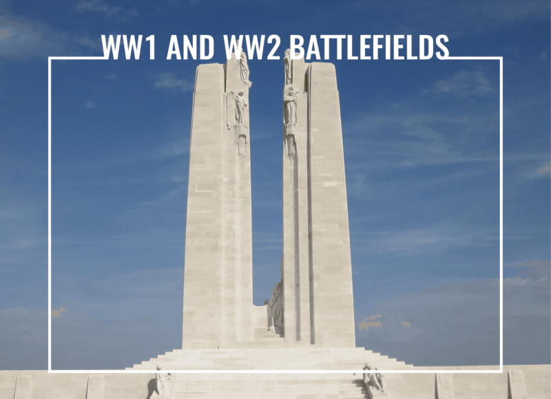 ww1 and ww2 battlefields travels