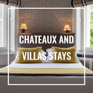 chateaux and villas stays, honeymoon, family holidays in france