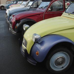 2CV vintage car