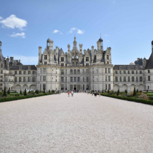 chambord chateau western france from paris