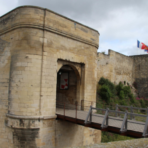 caen castle family holidays normandy