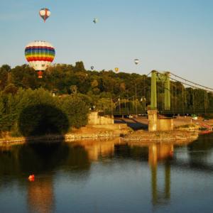 hot air balloon ride montgolfiere