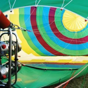hot air balloon montgolfiere