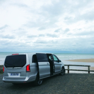 normandy beach driver guide minivan