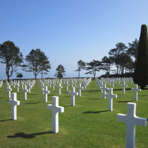 american cemetery battlefields normandy western france travel
