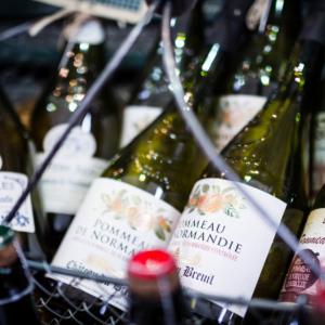 cider bottle normandy