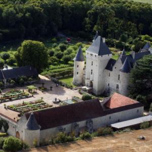 riveau castle chateau loire valley truffles