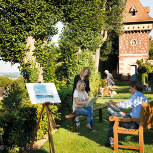 painting course wellness normandy