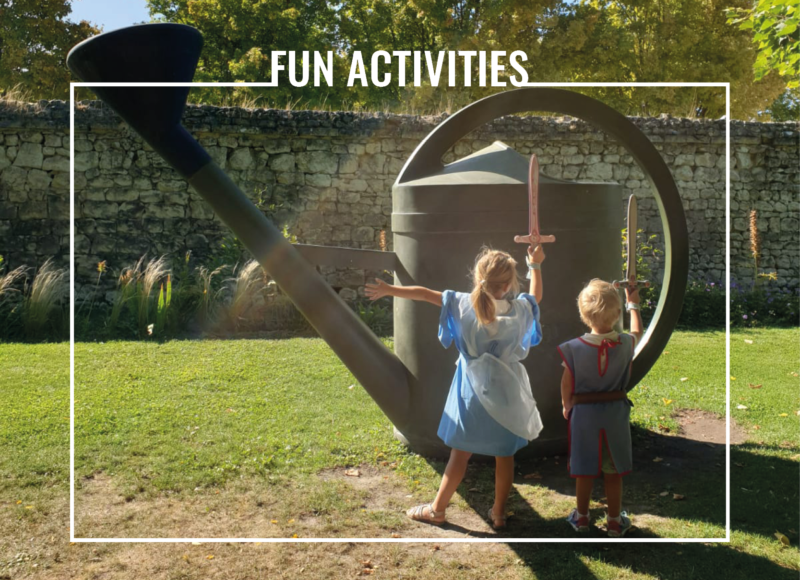 funny activities family holidays in france
