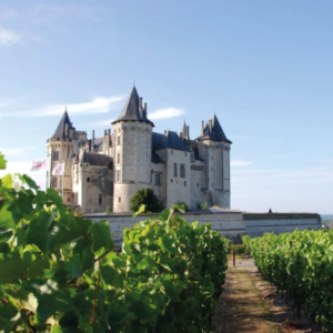 saumur the loire valley chateau stay vintage car vie de chateaux unusual