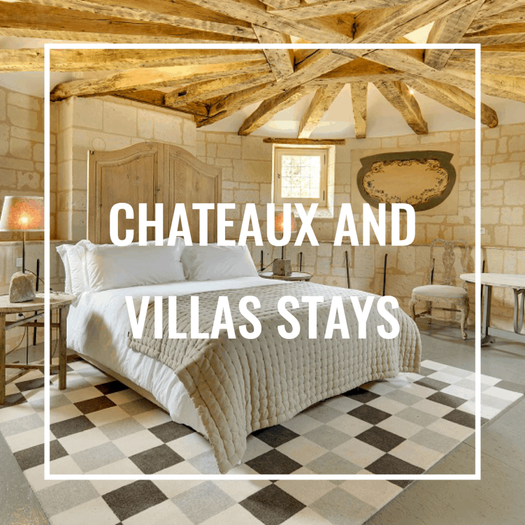 chateaux and villas stay