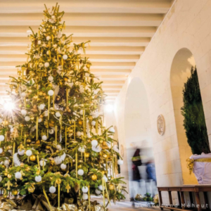 christmas chateaux