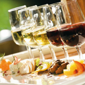 cooking class and wine