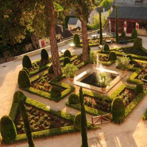 clos luce french gardens jardins chateaux loire