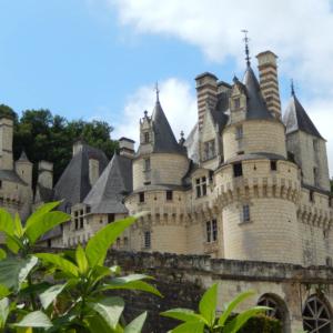 usse chateau castle vintage car